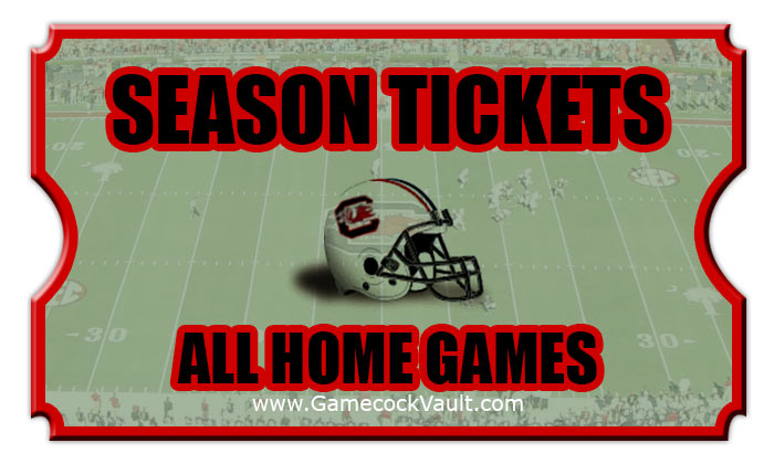 2020 South Carolina Gamecocks Season Football Tickets